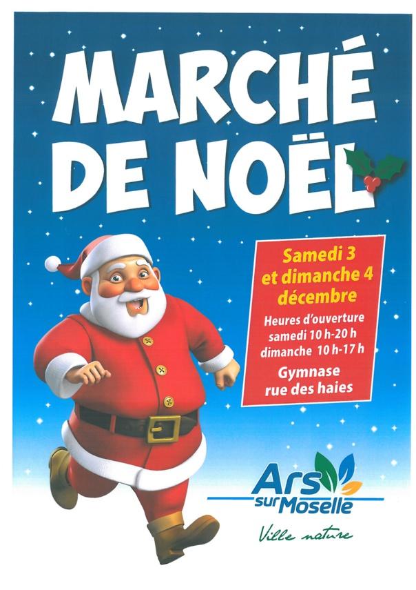 MARCHE DE NOEL samedi 3 et dimanche 4 décembre
