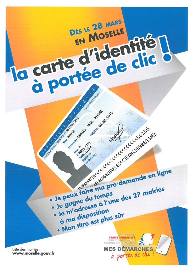 DEMANDE DE CARTE D'IDENTITE BIOMETRIQUE