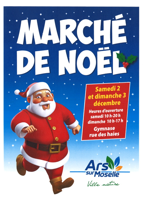 MARCHE DE NOEL samedi 2 et dimanche 3 décembre