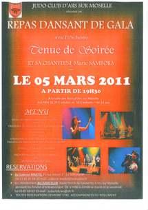 5 mars 2011 Soirée de Gala du Judo Club d'Ars-sur-Moselle