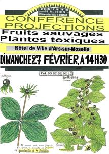27 février : Conférence-projection : fruits sauvages et baies toxiques