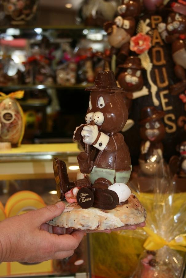 La déferlante chocolatée a débarqué à la Maison Erman !