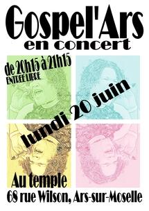 20 juin : Concert Gospel