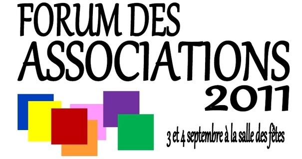 Forum des associations les 3 et 4 septembre 2011