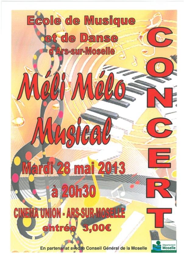 CONCERT MELI-MELO MUSICAL