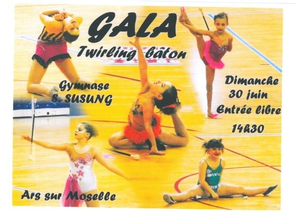 GALA TWIRLING BATON dimanche 30 juin