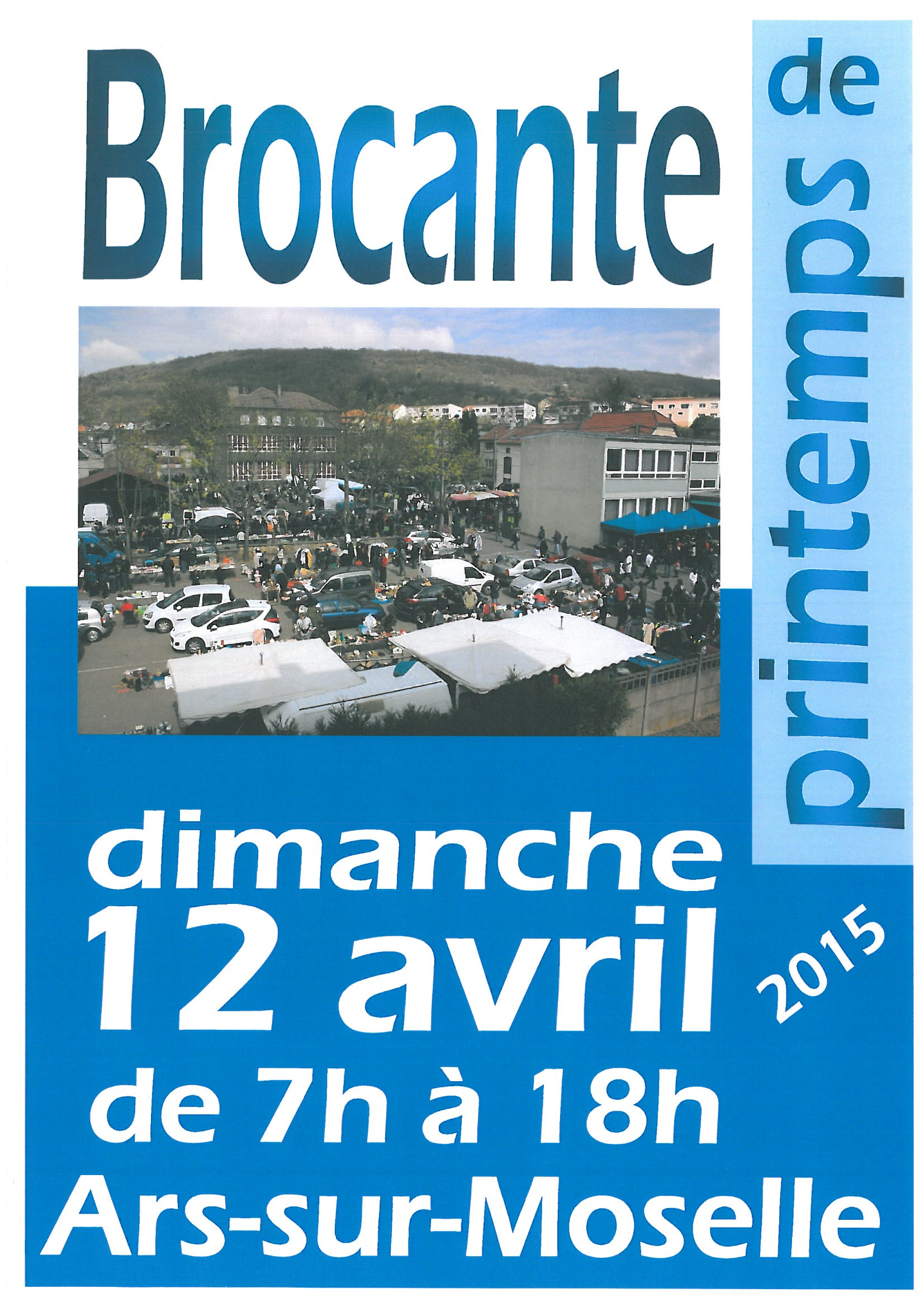 GRANDE BROCANTE DE PRINTEMPS dimanche 12 avril