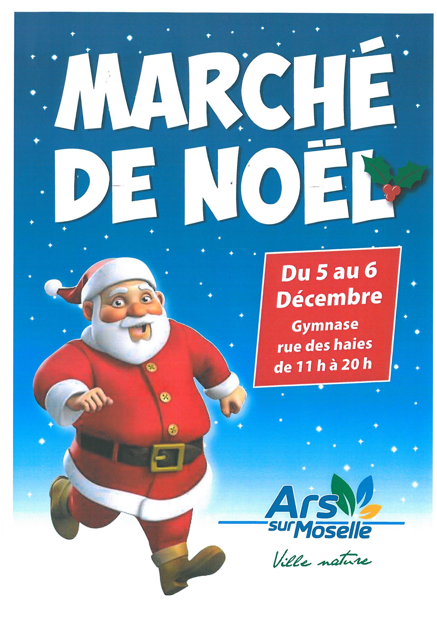 MARCHE DE NOEL samedi 5 et dimanche 6 décembre