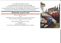 COMMEMORATION DU SOUVENIR FRANCAIS dimanche 29 avril