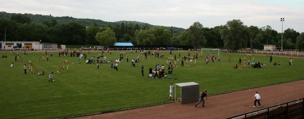 Rencontres mini-hand au stade