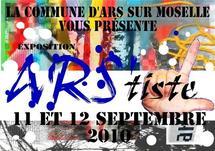 Deuxième édition de l'exposition ARS'TISTE