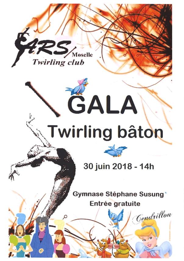 GALA Twirling bâton samedi 30 juin