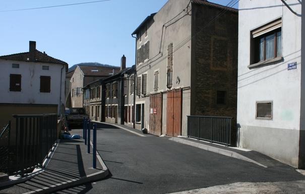 Les travaux rue Mangin sont achevés