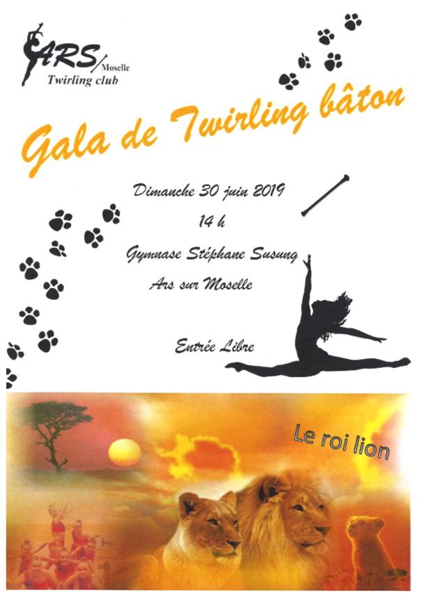 GALA DE TWIRLING BATON dimanche 30 juin