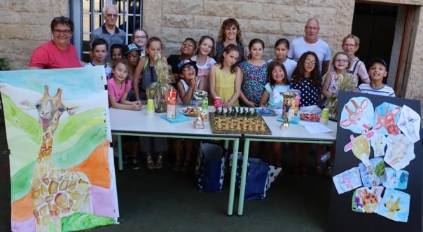 FIN D'ANNEE POUR LE CLUB D'ECHECS jeudi 4 juillet