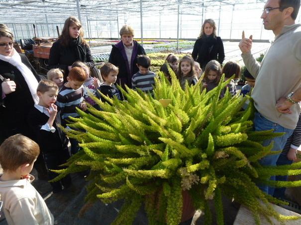 Sortie de l'école maternelle du moulin fleuris aux serres Malassé à Metz