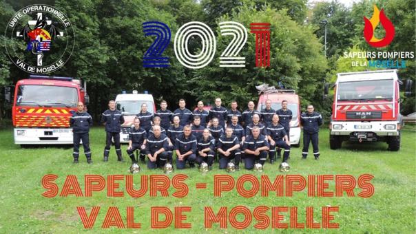 TOURNEES DES CALENDRIERS DES SAPEURS POMPIERS du Val de Moselle jusqu'au 31 janvier