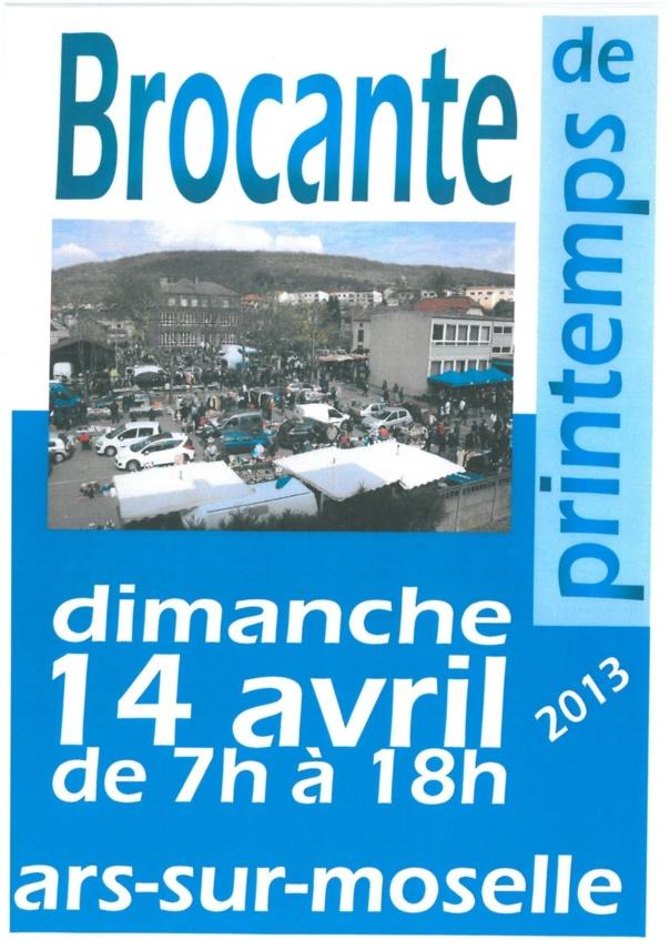 BROCANTE DE PRINTEMPS le 14 avril