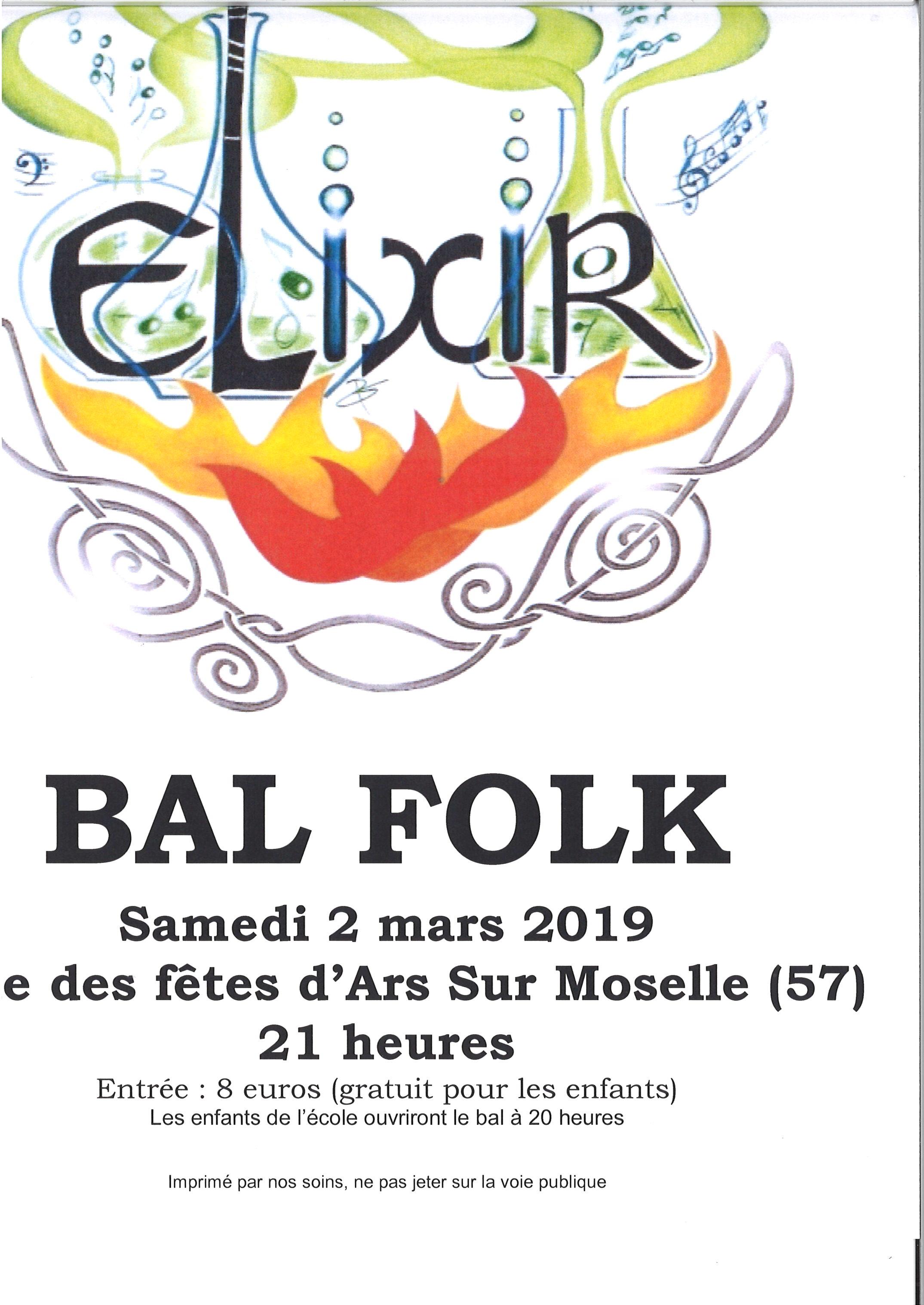 BAL FOLK samedi 2 mars